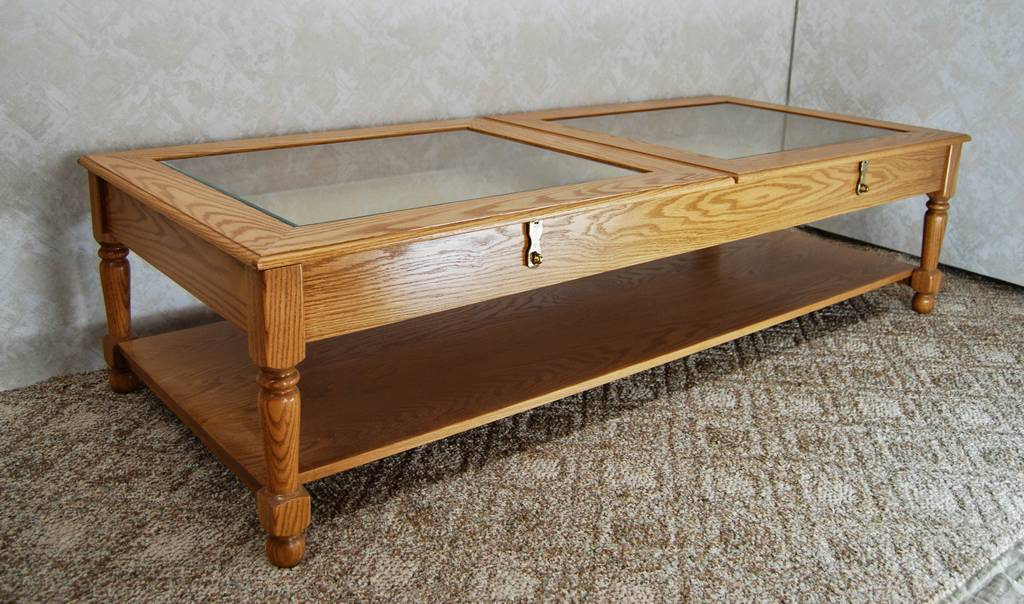 Display Coffee Table De Vries Woodcrafters