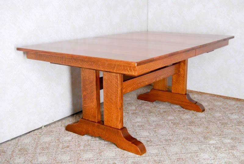 Double Pedestal Mission Table