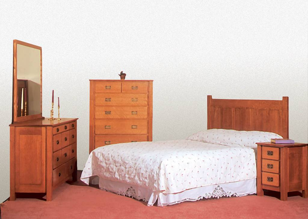 Mission Bedroom Set De Vries Woodcrafters