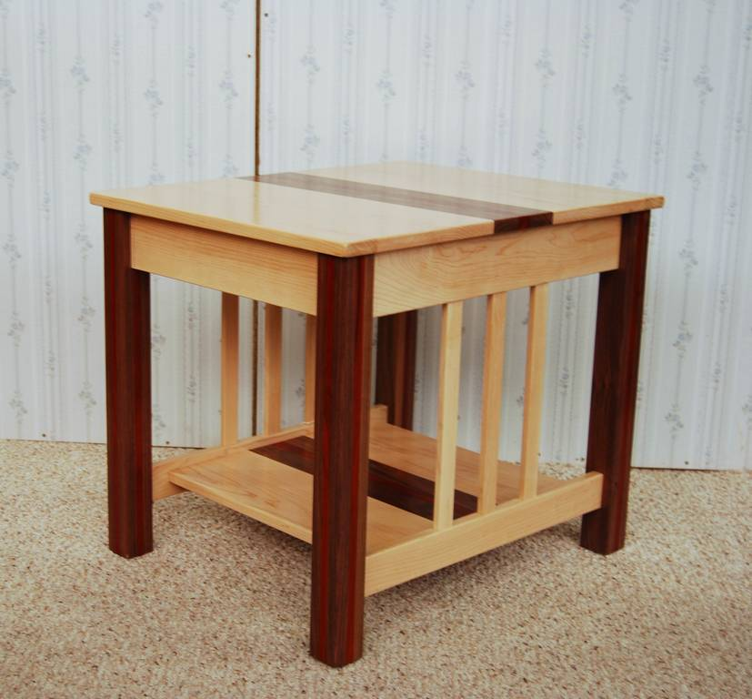 threewood end table
