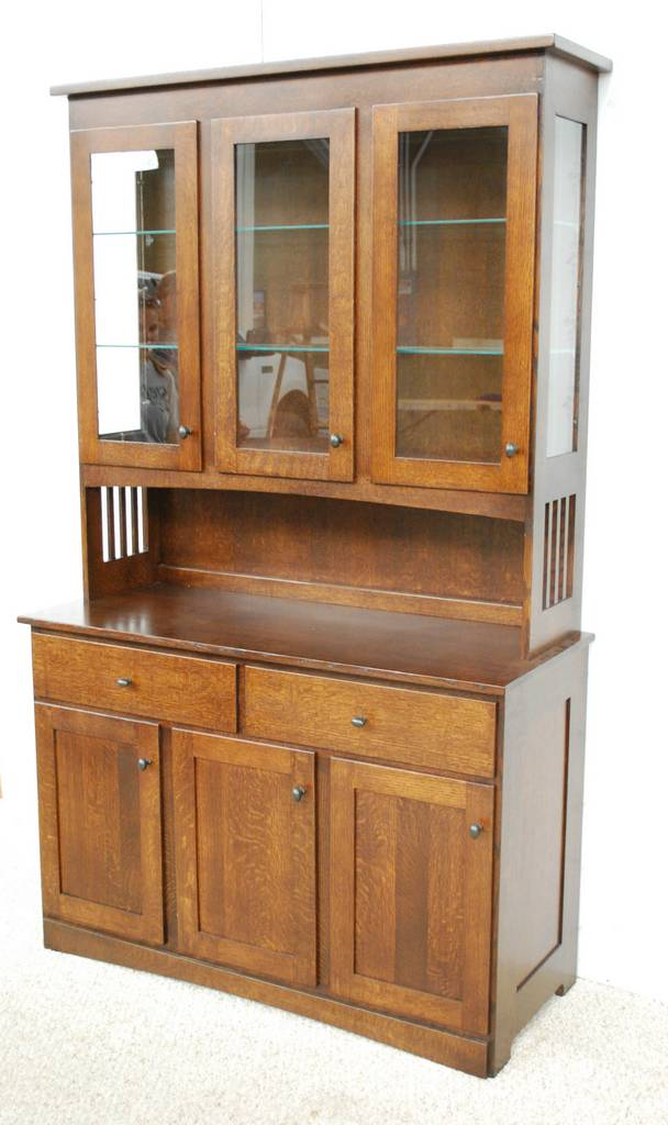 Mission China Cabinet - De Vries Woodcrafters