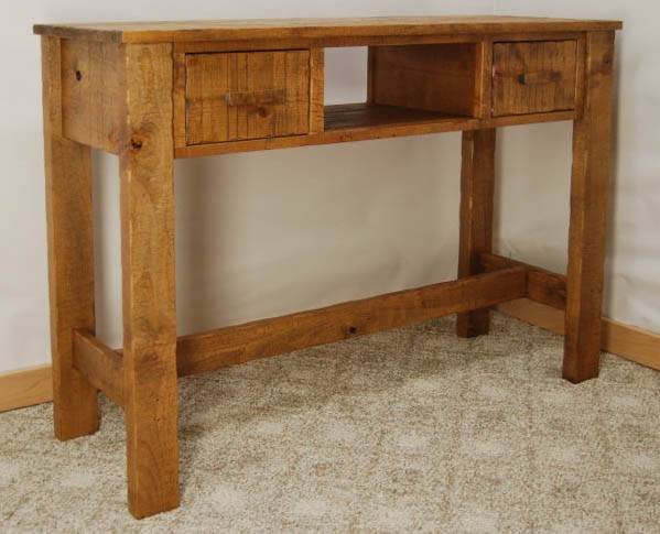 Captivating This Rustic Sofa Table ...