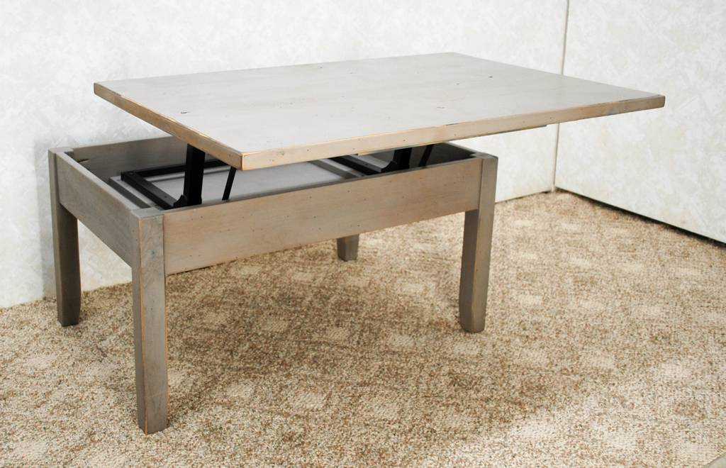 Hi Low Coffee Table De Vries Woodcrafters